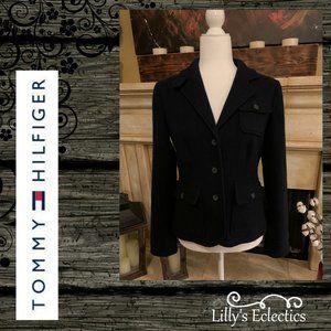 Tommy Hilfiger Navy Wool Jacket